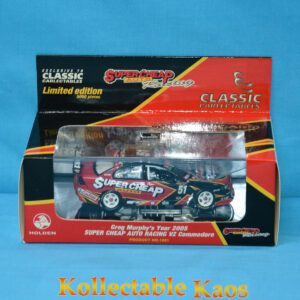 1:43 Classics - 2005 Super Cheap Auto Racing - Holden VZ Commodore - Greg Murphy