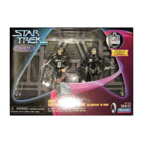 Star Trek TNG - Borg Drone Box Set