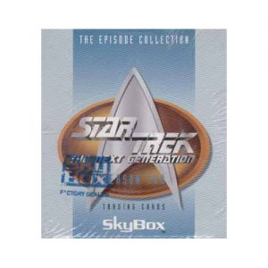 Star Trek Episode Collection Season 2 Collector Cards Sealed Box