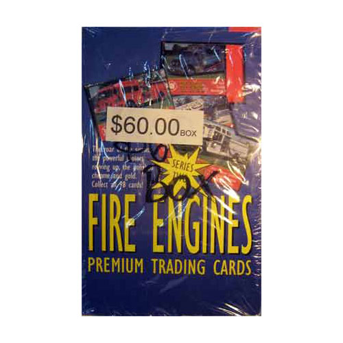 Fire Engines Series 2 Collector Cards Sealed Box
