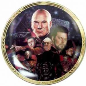 Star Trek - Best of Both Worlds Collectors Plate