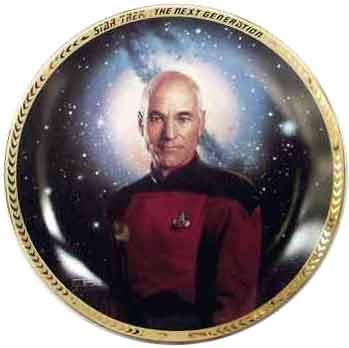 Star Trek - Captain Jean-Luc Picard Collectors Plate