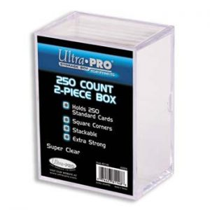 Card Storage Box - 2 piece - 250 count