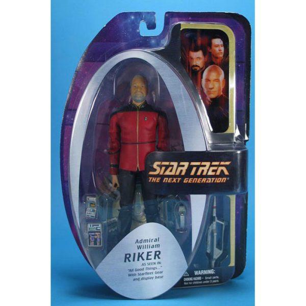 Star Trek TNG - Admiral William Riker
