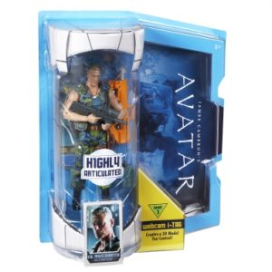 "Avatar - 7"" Col. Miles Quaritch Action figure"