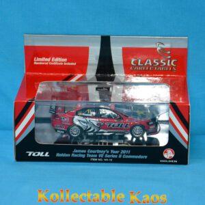 1:43 Classics - 2011 Toll HRT - Holden VE II Commodore - James Courtney