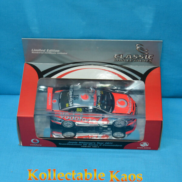 1:43 Classics - 2011 TeamVodafone - Holden VE II Commodore - Jamie Whincup