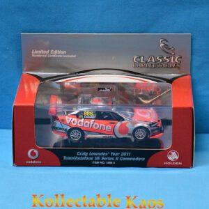 1:43 2011 TeamVodafone VE Commodore - Craig Lowndes