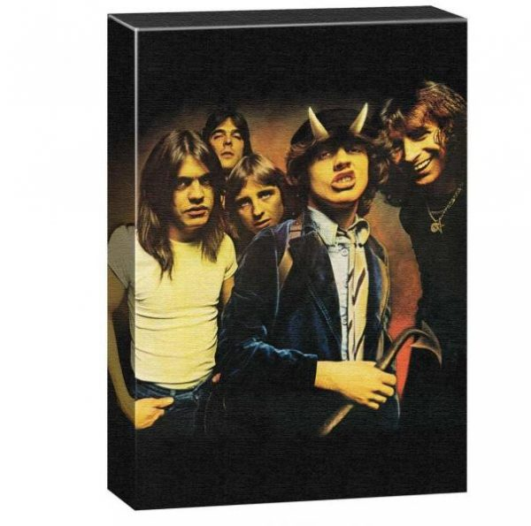 ACDC Wall Canvas - Highway to Hell