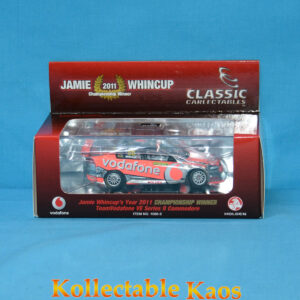 1:43 Classics - 2011 Championship Winner - Holden VE II Commodore - Whincup