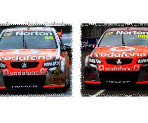 1:43 2011 V8 Supercar Championship 1-2 Finish Box Set