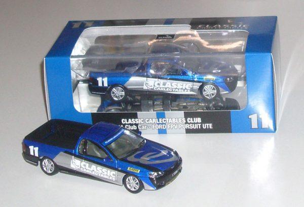 1:43 2011 Club Car - Ford FPV Pursuit Ute