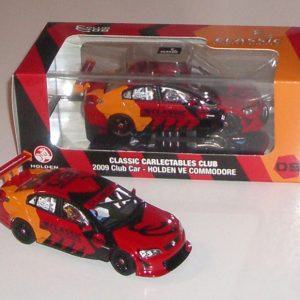 1:43 2009 Club Car - Holden VE Commodore