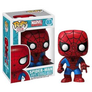 Spiderman - Pop! Vinyl Bobble Figure