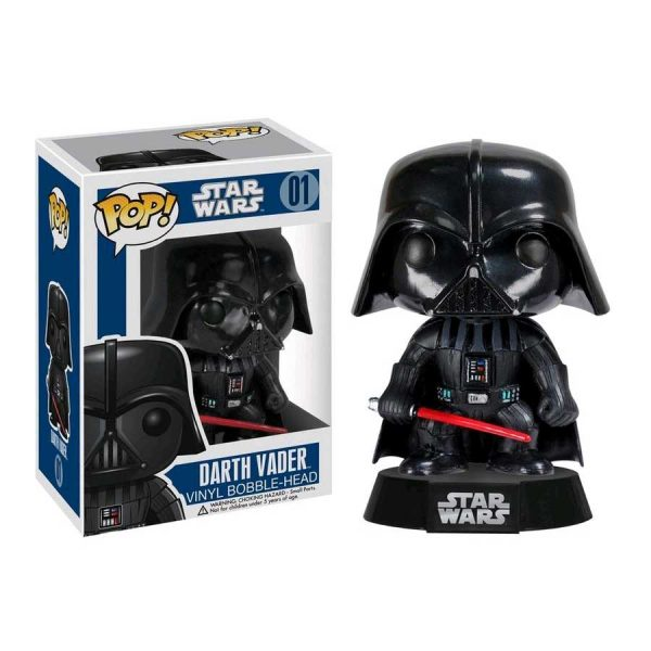 FUN2300 Star Wars Darth Vader Pop 600x600 - Star Wars - Darth Vader Pop! Vinyl Bobble Figure