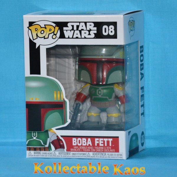FUN2386 Boba Fett 1 600x600 - Star Wars - Boba Fett Pop! Vinyl Bobble Figure #8