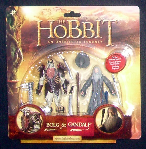 The Hobbit - Bolg and Gandalf