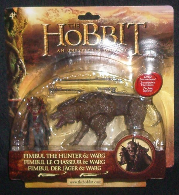 The Hobbit - Fimbul the Hunter & Warg
