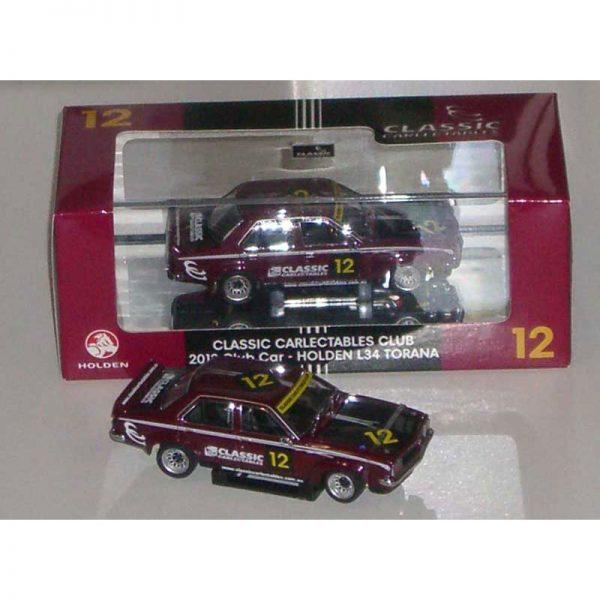 1:43 2012 Club Car - Holden L34 Torana