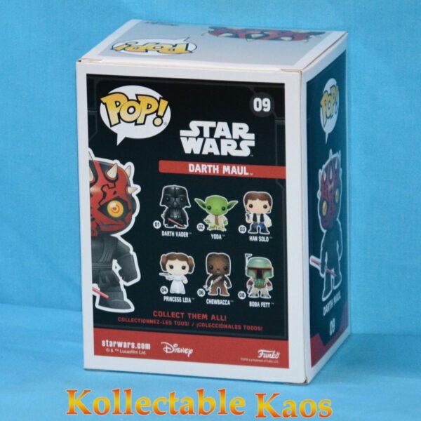 Star Wars - Darth Maul Pop! Vinyl Bobble Figure