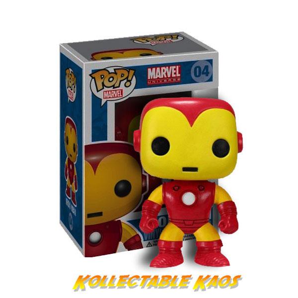 Iron Man - Pop! Vinyl Bobble Figure