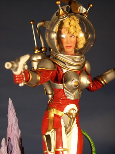 Space Vixens Felicity Bliss Statue