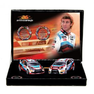 1:43 Vitesse - Mitsubishi Lancer Champion Gift Set