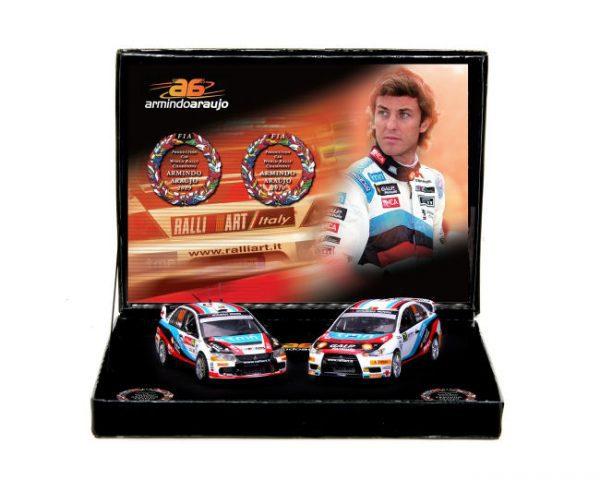 1:43 Vitesse - Mitsubishi Lancer Champion Gift Set