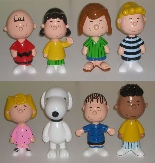 Peanuts Gang Set of Eight - 20cm Statues