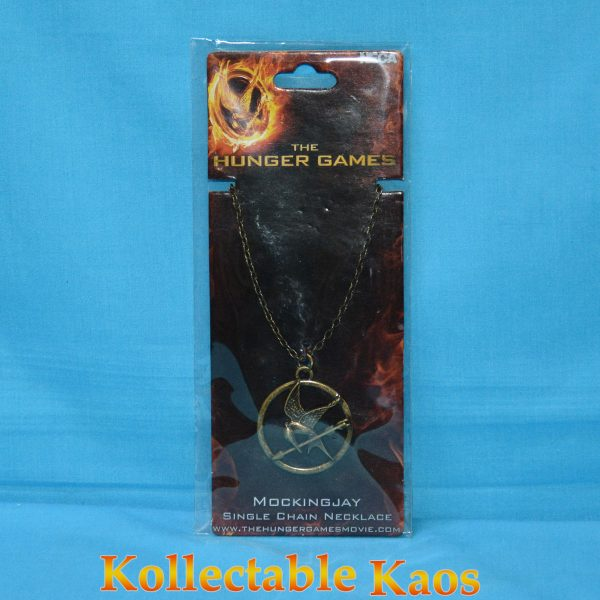 The Hunger Games - Necklace Single Chain Mockingjay