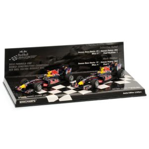 1:43 - 2010 - Double Set - Red Bull Racing Renault RB6 - Constructers World Championship