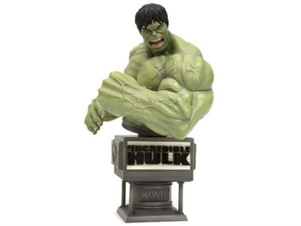 Marvel - Incredible Hulk Movie Fine Art Bust