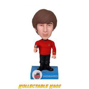 Big Bang Theory - Howard Star Trek Wacky Wobbler Bobble Head