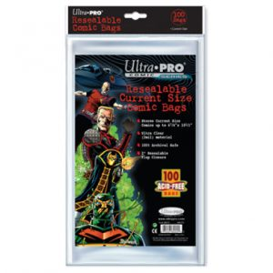 ULTRA PRO Comic Accessories - Resealable Current Size Bags (100bags)