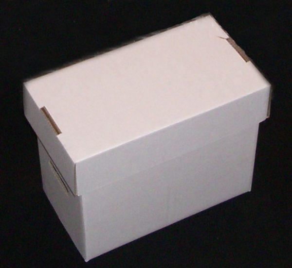 Cardboard Short Comic Storage Cardboard Box