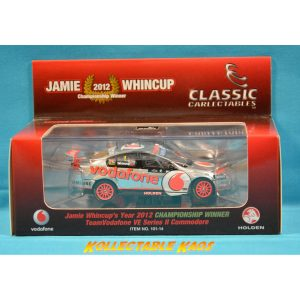 1:43 2012 'Championship Winner' TeamVodafone VE Series II Commodore - Whincup