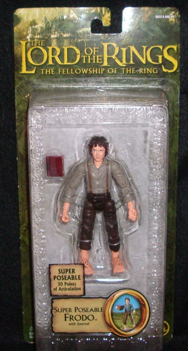 LOTR - Epic Trilogy S1 - Super Poseable Frodo with Journal