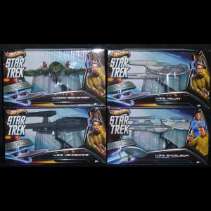 1:50 Hot Wheels - Star Trek Vehicles - Set of 4