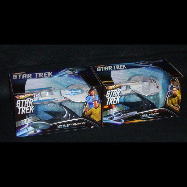 1:50 Hot Wheels - Star Trek Vehicles - Set of 4