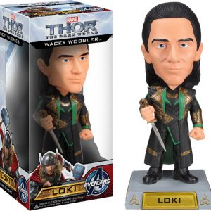 Thor - Thor 2: The Dark World - Loki Wacky Wobbler Bobble Head