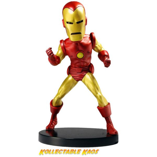 Iron Man - Classic Iron Man Head Knocker Bobble Head