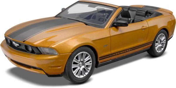 1:25 Revell - SnapTite - 2010 Ford Mustang Convertible Plastic Model Kit(85-1963)