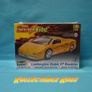 1:25 Revell - SnapTite - Lamborghini Diablo VT Roadster Plastic Model Kit(85-1979)