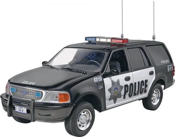 1:25 Revell - SnapTite - Ford Expedtion Police SSV Plastic Model Kit(85-1972)