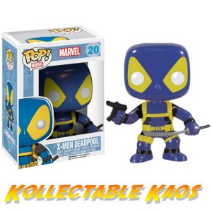 Deadpool - Deadpool X-Men Blue & Yellow Costume Pop! Vinyl Figure
