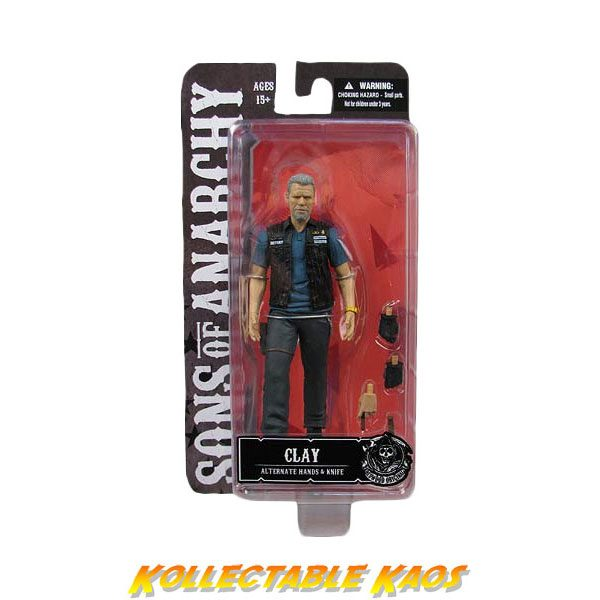 """Sons of Anarchy - Clay Morrow 6"""" Action Figure"""