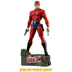 """The Phantom - The Ghost Who Walks - Red Suit Variant 12"""" Statue"""