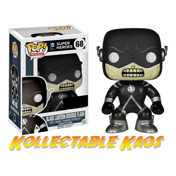 Flash - Black Lantern Reverse Flash Pop! Vinyl Figure