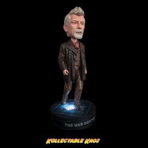 Doctor Who - John Hurt Bobble Head with Light Up Base
