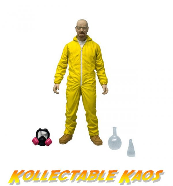 "Breaking Bad - Walter White 6"" Hazmat Figure"
